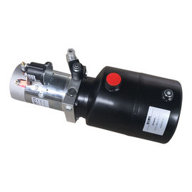 Çin 12V/24V Single Action DC Motor Mobile Hydraulic Power Pack Unit 16Mpa , 20Mpa Fabrika